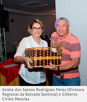 Estela dos Santos Rodrigues Peres e Gilberto Cirino Messias